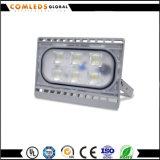 세륨을%s 가진 닫집을%s 50W 220V 80lm/W Silm LED 투광램프