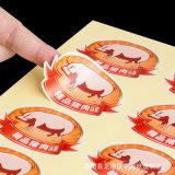 De in het groot Leverancier Dongguan van de Sticker van het Zelfklevende Etiket van de Veiligheid