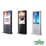 Экраны LCD цифров 55 дюймов напольные рекламируя Displayer
