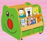 幼稚園の木の子供の役割の演劇の棚の漫画TV表機能TVのキャビネット(HB-04104)