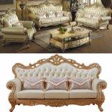 كلاسيكيّة جلد أريكة مع خزائن لأنّ يعيش غرفة أثاث لازم