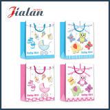 El OEM del diseño del bebé vende al por mayor barato modifica las bolsas de papel para requisitos particulares impresas insignia
