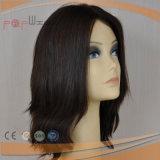 El cabello humano sintético mezclado mujer peluca (PPG-L-01653)