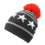 Beanie POM POM Red Hat из жаккардовой ткани трикотажные Red Hat