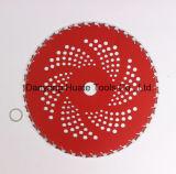 Circular Tct Hoja de corte de pasto, hojas de corte Carbite Barbero, hoja de sugerencias