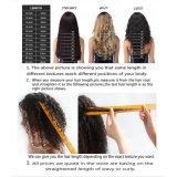 le parrucche naturali della parte anteriore del merletto dell'onda 150%Density mettono i capelli umani in cortocircuito brasiliani del Bob
