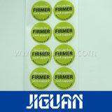 Etiquetas engomadas adhesivas transparentes de la impresión de encargo