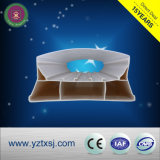 PC T8 Tube PVC LED LED Housint Support de tube