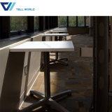 Стулы таблиц трактира журнального стола Corian акриловые причудливый Starbucks и быстро-приготовленное питания стулов