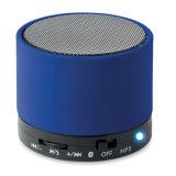 ABS runder Bluetooth Lautsprecher mit LED-heller Anzeige mit kundenspezifischem Firmenzeichen