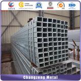 Hot DIP Rectangle recouvert de zinc/ tuyaux carrés (CZ-C39)