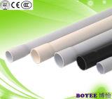 Buen aislamiento eléctrico Conduit de PVC Tubo Cable