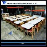 부엌 대중음식점 가구 둥근 장방형 카페테리아 테이블 디자인