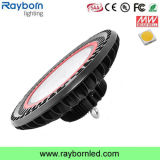保証5年のの高品質UFO LED Highbay軽い100W 200W