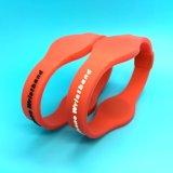 125kHz impermeabile più i braccialetti a doppia frequenza del silicone di 13.56MHz RFID