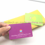 RFID antirrobo que bloquea la tarjeta del blindaje de la tarjeta