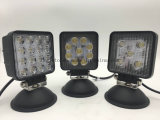 E-MARK 4inch quadratisches 15With27With48W LED LKW-Arbeits-Licht
