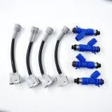 4X nuovi iniettori di combustibile W/Plug dell'OEM Denso Rdx 410cc & adattatori del gioco per Honda