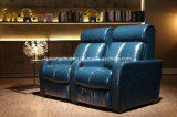 Sofà commerciale moderno del cinematografo della mobilia VIP, sofà del teatro di VIP con i Recliners VIP8802