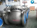 Углеродистая сталь крепится болтами крышки обратный клапан поворотного диска