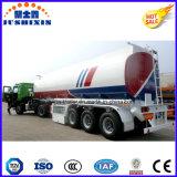 3 de Aanhangwagens van de Olietanker 45000L van Petrolum 42000L van de Benzine van de Diesel van assen Voor Verkoop