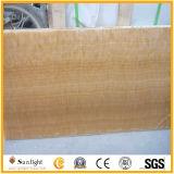 Marmo di legno Polished del grano del Brown Obama per i controsoffitti, mattonelle di pavimentazione