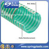 Boyau lourd en plastique d'aspiration de PVC avec la bonne qualité