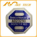충격 표시기 Shockwatch 레이블 지적인 충격 스티커