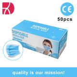Fabrikant Disposable 3-laags niet-geweven veiligheidsmasker voor gezicht