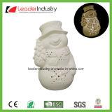 Estatua de la cabeza de conejo de cerámica blanca para la Decoración de pared