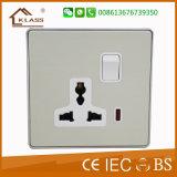 영국 표준 전기 벽 스위치 전기 스위치 소켓