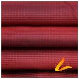 50d 300t Water & Wind-Resistant Piscina Sportswear casaco para tecidos Plaid Futebol 100% poliéster Jacquard Pongées Fabric (53129Q)
