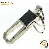 Anel chave feito sob encomenda de carro de metal da venda quente com alta qualidade