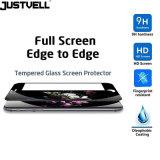 Justvell pour la glace Tempered incurvée par 3D de la pleine couverture 9h en verre 0.3mm de l'iPhone 7 pour la protection positive en verre de protecteur d'écran de l'iPhone 7