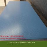 18mm E1 Glue Muebles de grado Melamine papel hecho a mano aglomerado aglomerado