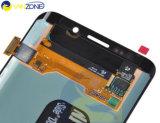 Samsung S6の端G925 LCDスクリーンアセンブリのための携帯電話LCDの表示