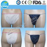 Non-Woven Azul Calzoncillos ... no tejida blanca Briefs ... no tejida de color rosa Briefs