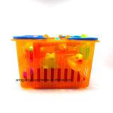 Set de banho de bebê Conjunto de brinquedos de plástico macio de vinil