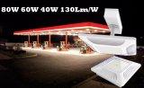 Stazione di servizio protetta contro le esplosioni LED dell'indicatore luminoso del baldacchino di prezzi di fabbrica 150W 120W 100W 80W 60W 40W