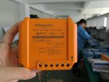 Cargador solar anaranjado 15A de los reguladores del azul MPPT100/15 de Fangpusun para la batería del sistema 12V 24V de la farola