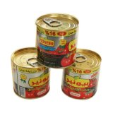 140g Tomatenkonzentrat mit Zinn-Verpackung