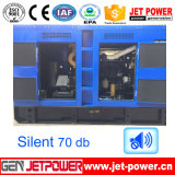 Generador chino Motor Diesel 100kVA silencioso fijar los precios de baterías de 24V