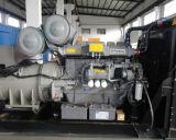 開いたフレームが付いているパーキンズエンジンのディーゼル発電機との600kw