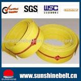 Cinturão de Transmissão Liso Amarelo / Azul Industrial Cotton Green