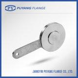 L'acier inoxydable a modifié la bride borgne de palette (PY0090)
