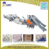 Sacchetti tessuti strato residuo del PE pp che lavano riciclando la macchina dell'espulsore