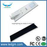 120W Outdoor Bridgelux Chip IP65 Integrated All in One LED Solar Streetlight