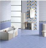 azulejo de cerámica interior brillante de la pared 6D-Inkjet para el material de construcción 300X450m m