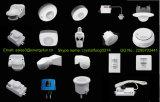 Configuración infrarroja del sensor del movimiento PIR ajustada para las lámparas