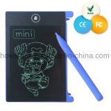 """Tablette électronique d'écriture d'affichage à cristaux liquides du retrait effaçable bleu 12 """" pour le sourd-muet"""
